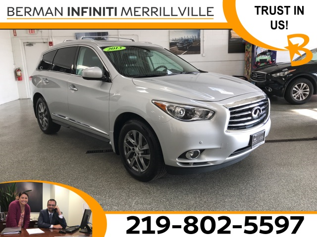 Certified Pre-Owned 2013 INFINITI JX35 Base