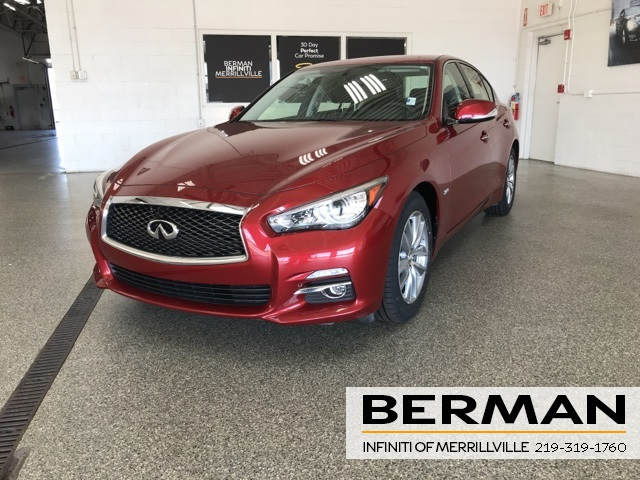 Certified Pre-Owned 2016 INFINITI Q50 3.0t Premium Plus