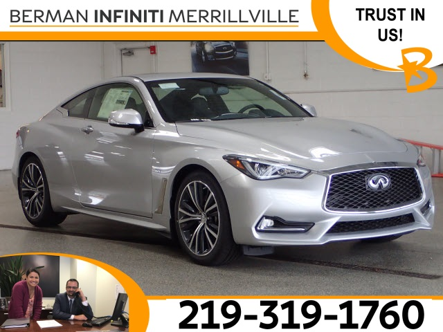 New 2018 Infiniti Q60 3 0t Luxe Awd Coupe In Merrillville M2577