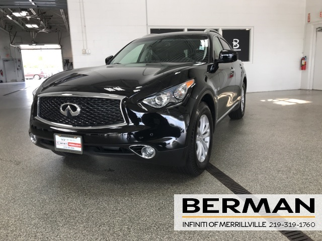 Certified Pre-Owned 2017 INFINITI QX70 LUXURY