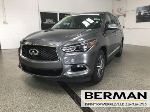 Certified Pre-Owned 2017 INFINITI QX60 Premium Plus Drivers Assist