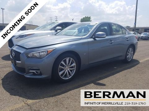 Certified Pre-Owned 2015 INFINITI Q50 LUXURY