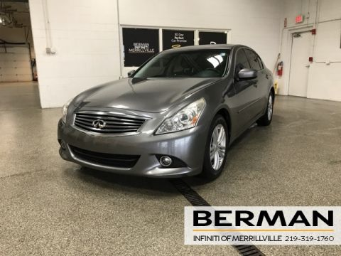 Pre-Owned 2013 INFINITI G37 X